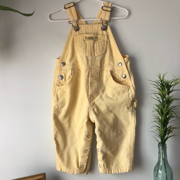 1543fa81be00 GAP Other - Baby gap yellow corduroy overalls